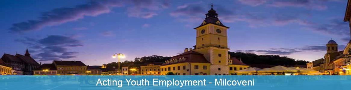 Mládežnícka výmena Acting Youth Employment v Milcoveni, Rumunsko