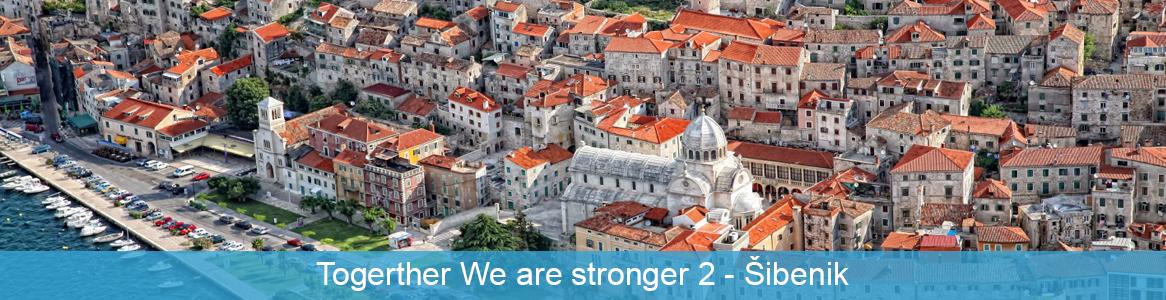 Mládežnícka výmena Togerther We are stronger 2 v Šibenik, Chorvátsko