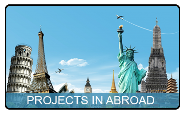 Projects in abroad