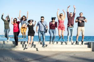 Účastníci na mládežníckej výmene Include Me na Cypruse