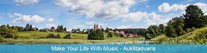 Mládežnícka výmena Make Your Life With Music v Aukštadvaris, Litva