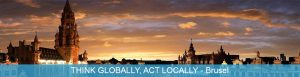 Tréning THINK GLOBALLY, ACT LOCALLY v Brusel, Belgicko