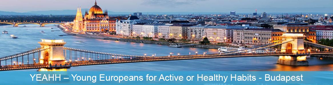 Mládežnícka výmena YEAHH – Young Europeans for Active or Healthy Habits v Budapešť, Maďarsko