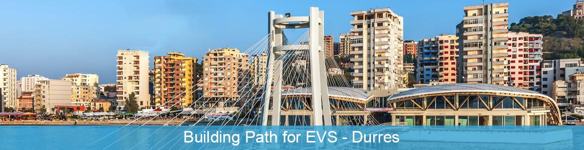 Tréning Building Path for EVS v Durres, Albánsko