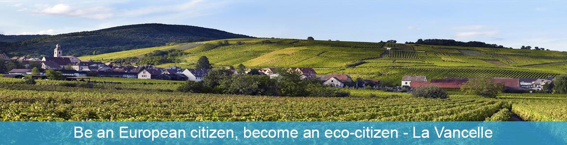 Mládežnícka výmena Be an European citizen, become an eco-citizen v La Vancelle, Francúzsko
