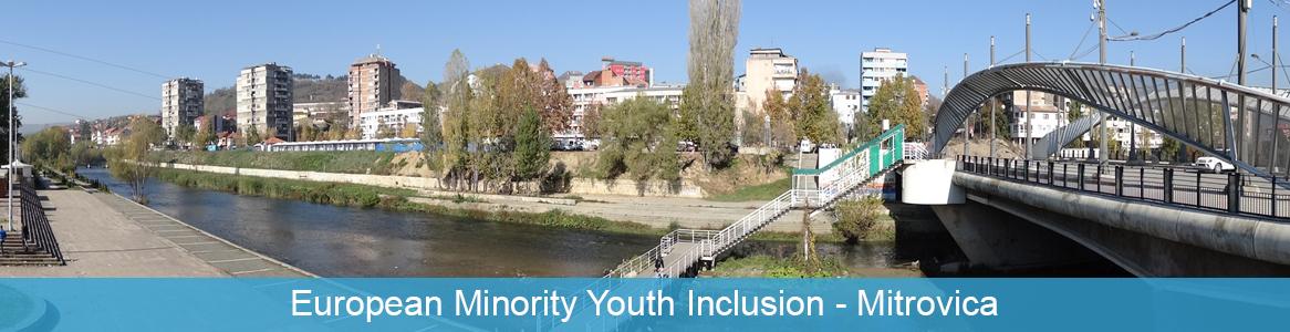 Tréning European Minority Youth Inclusion v Mitrovica, Kosovo