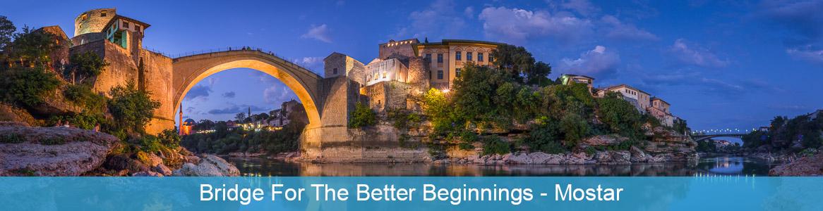 Mládežnícka výmena Bridge for the better beginnings v Mostar, Bosna a Hercegovina