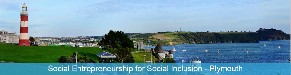 Tréning Social Entrepreneurship for Social Inclusion v Plymouth, Anglicko