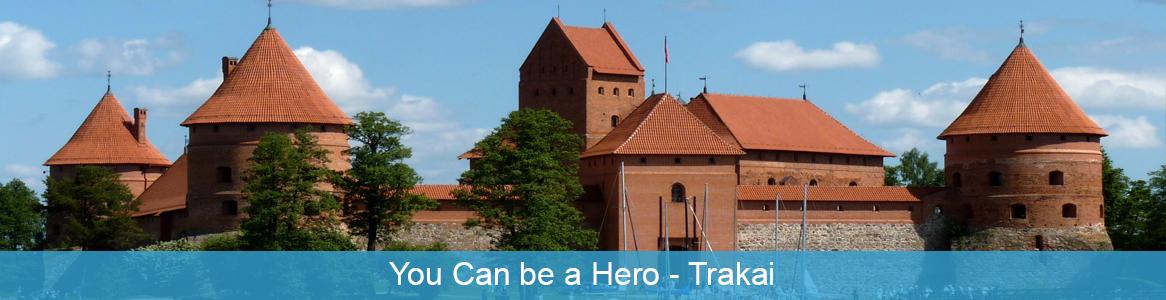 Mládežnícka výmena You Can be a Hero v Trakai, Litva