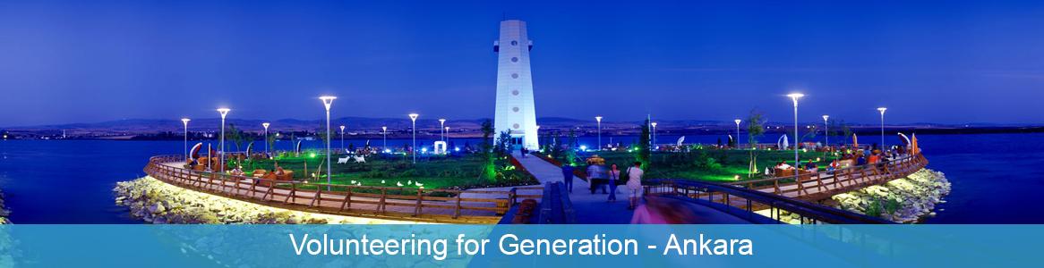 Európska dobrovoľnícka služba Volunteering for Generation v Ankara, Turecko