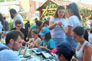 Pohľad na účastníkov Mládežníckej výmeny