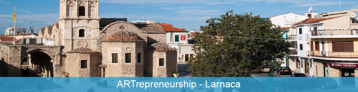 Tréning ARTrepreneurship v Larnaca, Cyprus