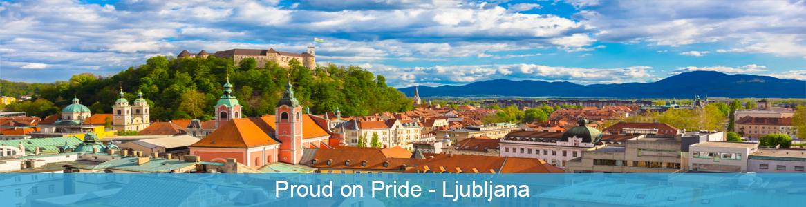 Európska dobrovoľnícka služba Proud on Pride v Ljubljana, Slovinsko