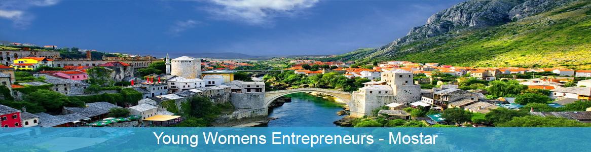 Tréning Young Womens Entrepreneurs v Mostar, Bosna a Hercegovina