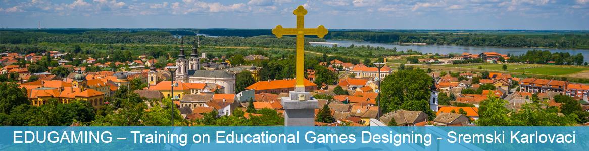 Tréning EDUGAMING – Training on Educational Games Designing v Sremski Karlovaci, Srbsko