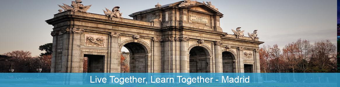 Tréning Live Together, Learn Together v Madride, Španielsko