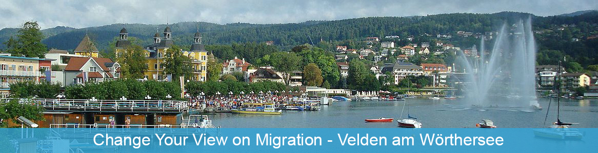 Tréning Change Your View on Migration v Velden am Wörthersee, Rakúsko