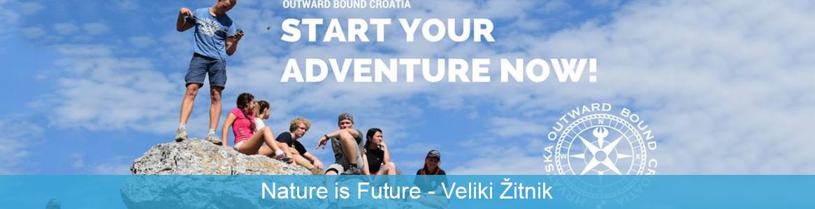 Mládežnícka výmena Nature is Future v Velki Žitnik, C horvátsko