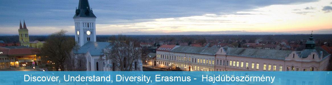 Discover, Understand, Diversity, Erasmus