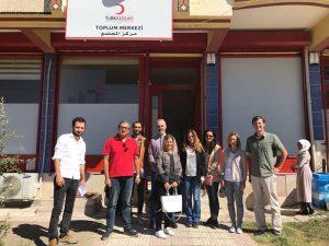 Komunitné centrum červeného kríža v Turecku