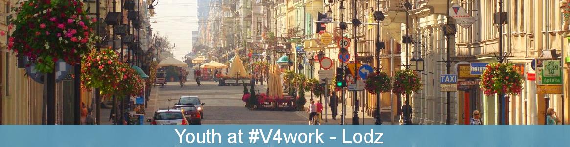 Youth at #V4work