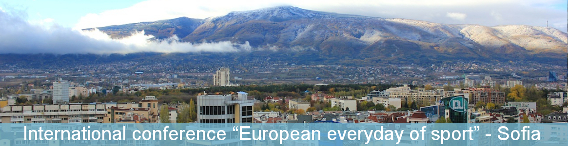 """International conference """"European everyday of sport"""""""