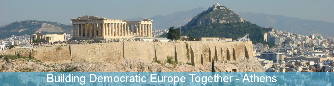 Building Democratic Europe Together - Athens