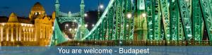 You are welcome Budapest