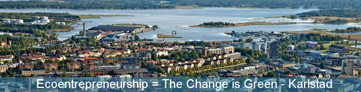 Ecoentrepreneurship = The Change is Green