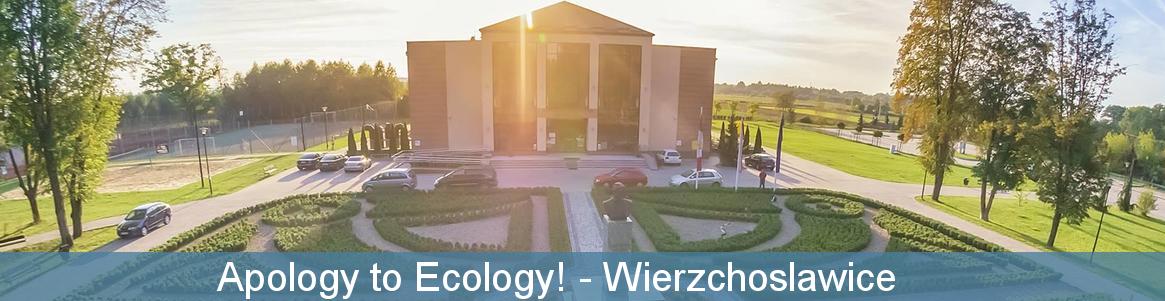 Apology to Ecology!