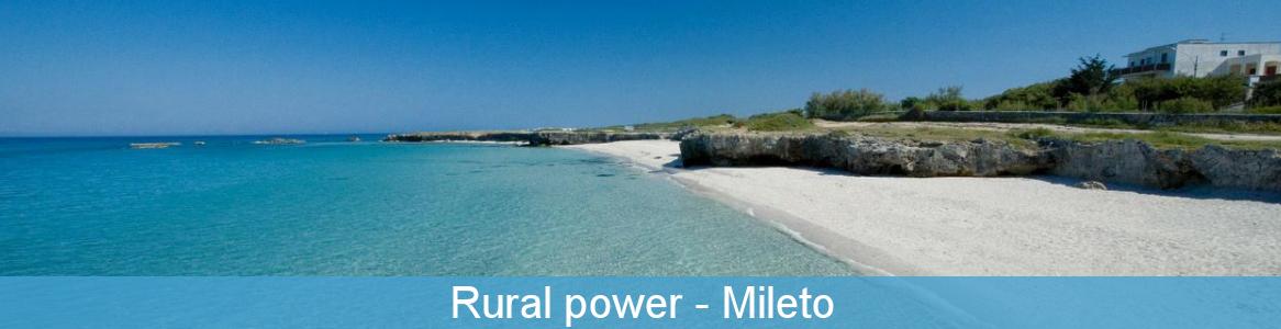 Rural power mileto