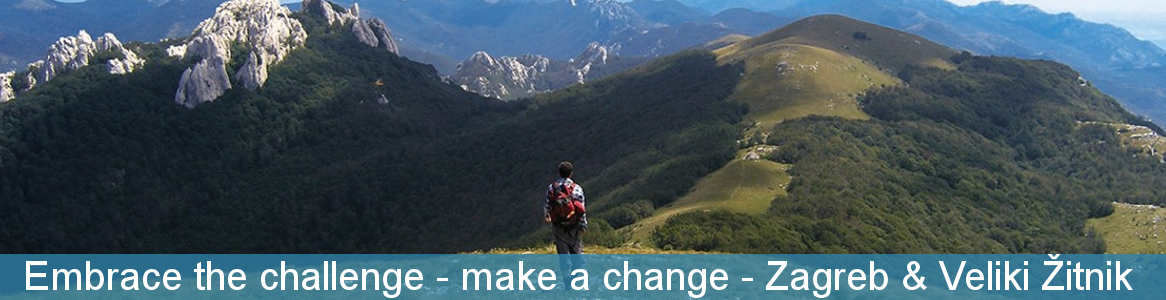 Embrace the challenge - make a change