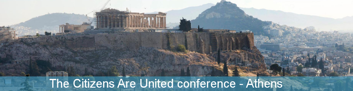 The Citizens Are United conference Athens