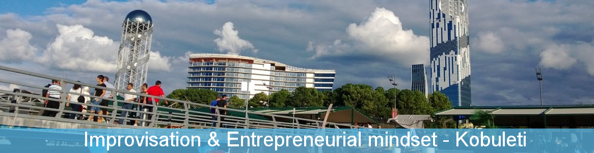 Improvisation & Entrepreneurial mindset - školenie v Gruzínsku Erasmus