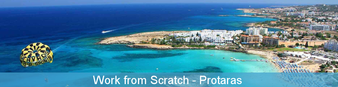 Work from scratch youth exchange -Protaras
