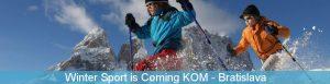 Winter Sport is Coming - kick-off meeting in Bratislava