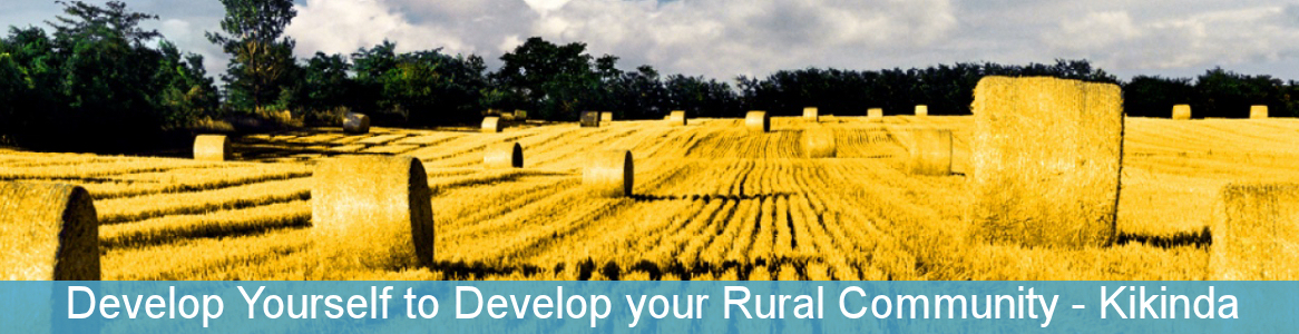 Develop Yourself to Develop your Rural Community
