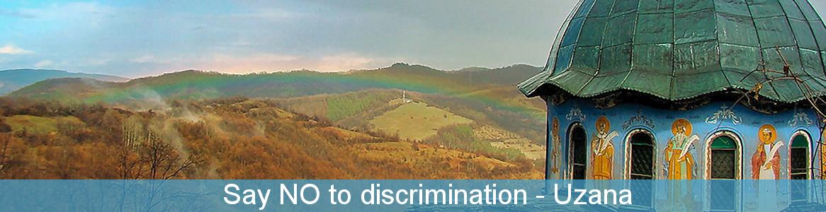 Say NO to discrimination