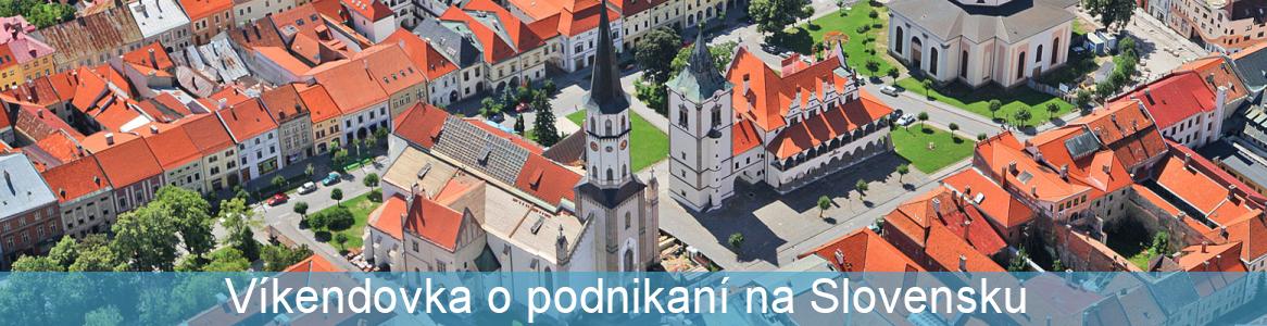 Víkendovka o podnikaní na Slovensku