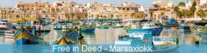 Free in Deed - mládežnícka výmena v Marsaxlokk