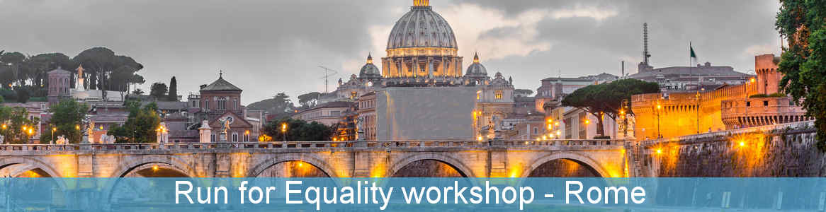 Run for Equality workshop
