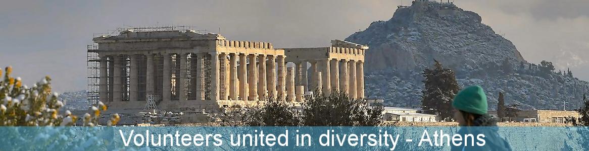 Volunteers united in diversity