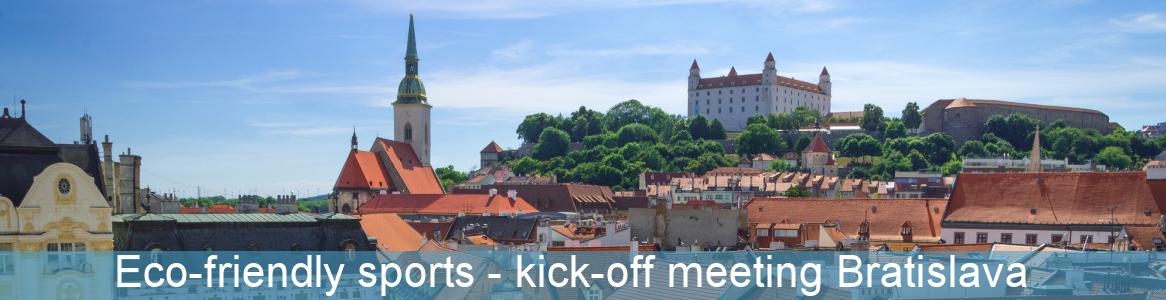 Eco-Friendly Sports - kick-off meeting