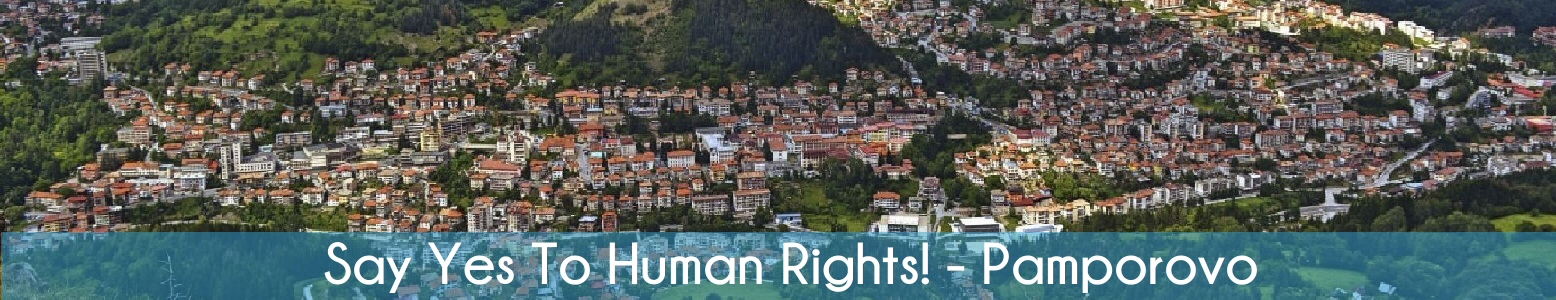 Say Yes To Human Rights!