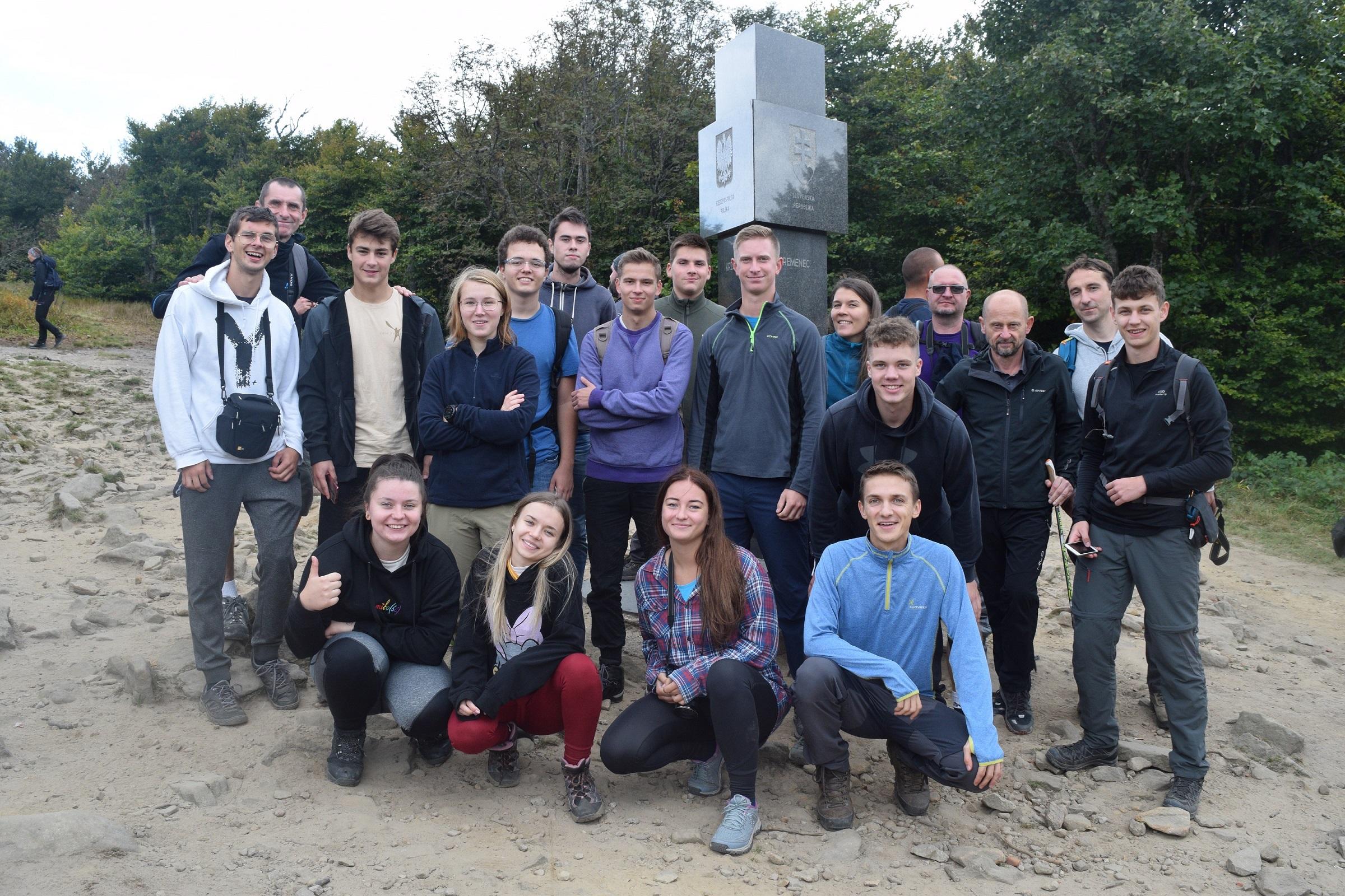 Youth Hiking in Digital Age Slovakia